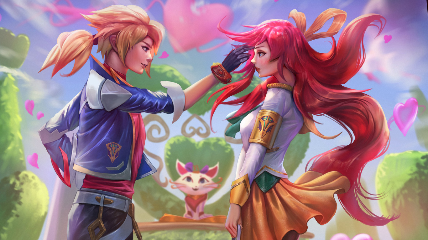 battle-academy-ezreal-and-lux-league-of-legends-5k-hp-1366×768