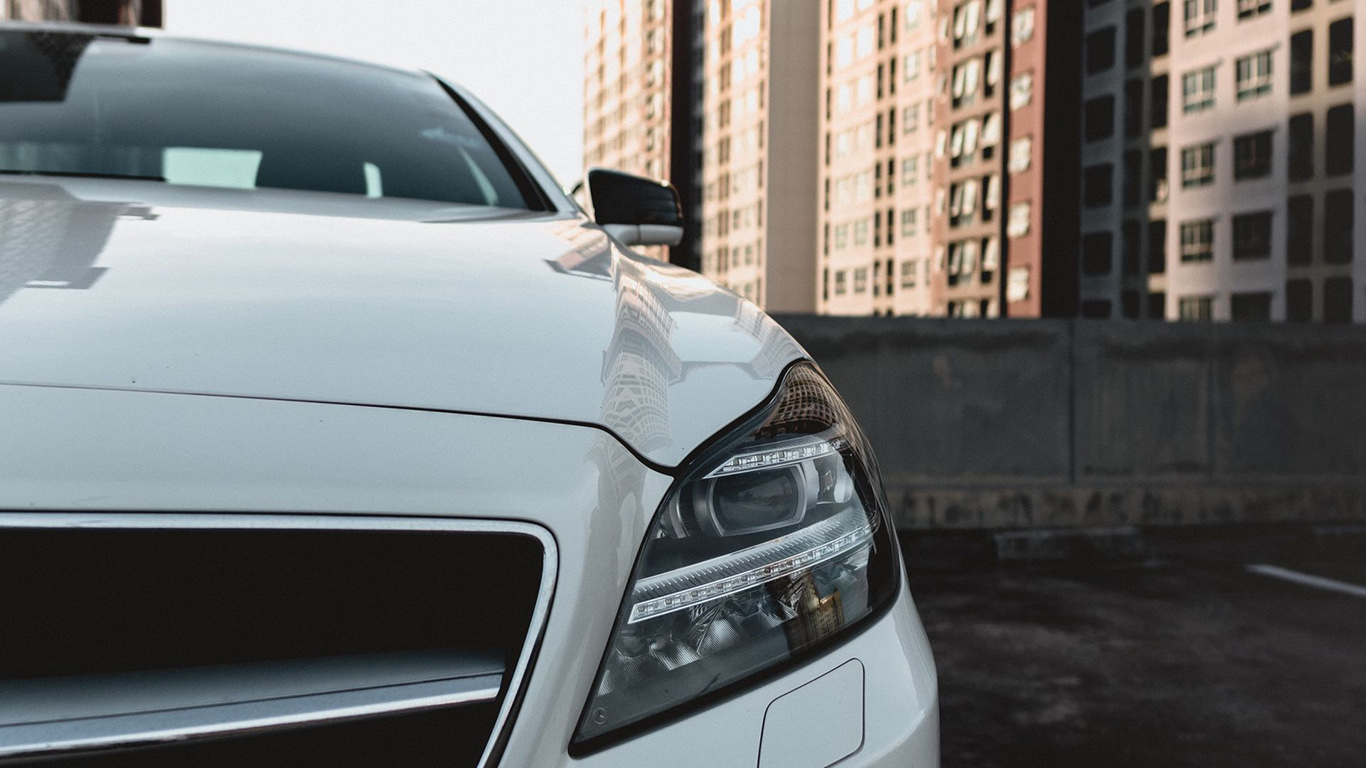 Car, White, Front, View, Wallpapers Free Download For Desktop