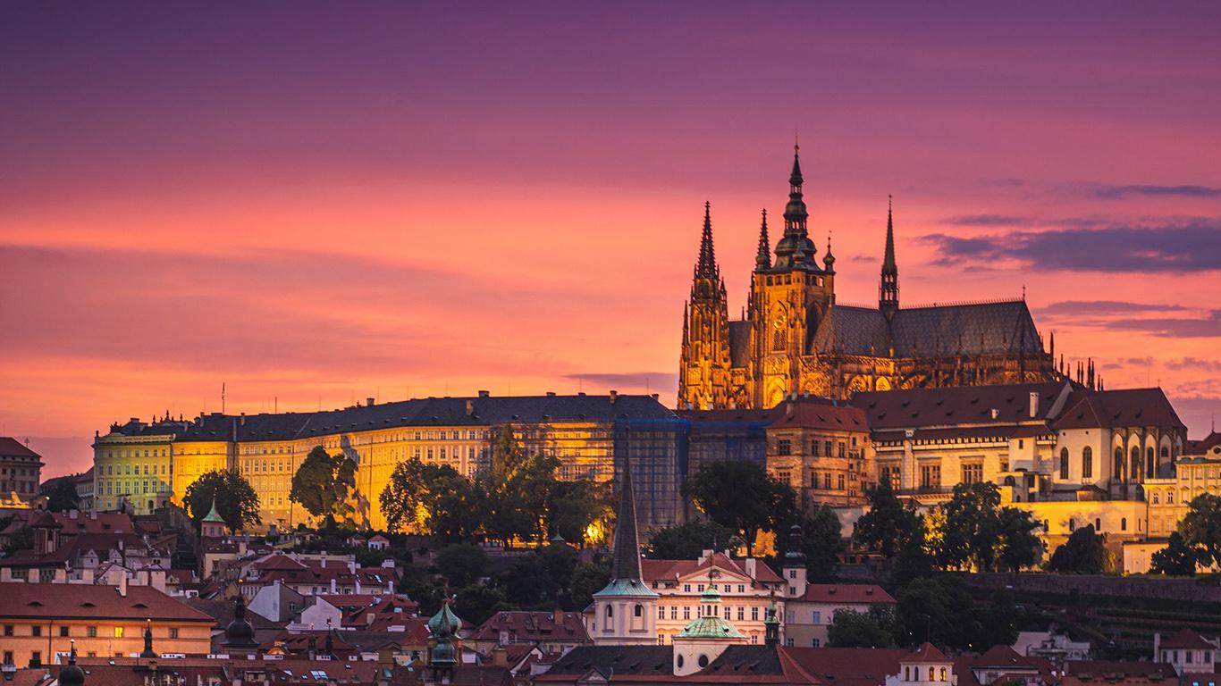 Castle, City, Buildings Wallpapers Free Download For Desktop