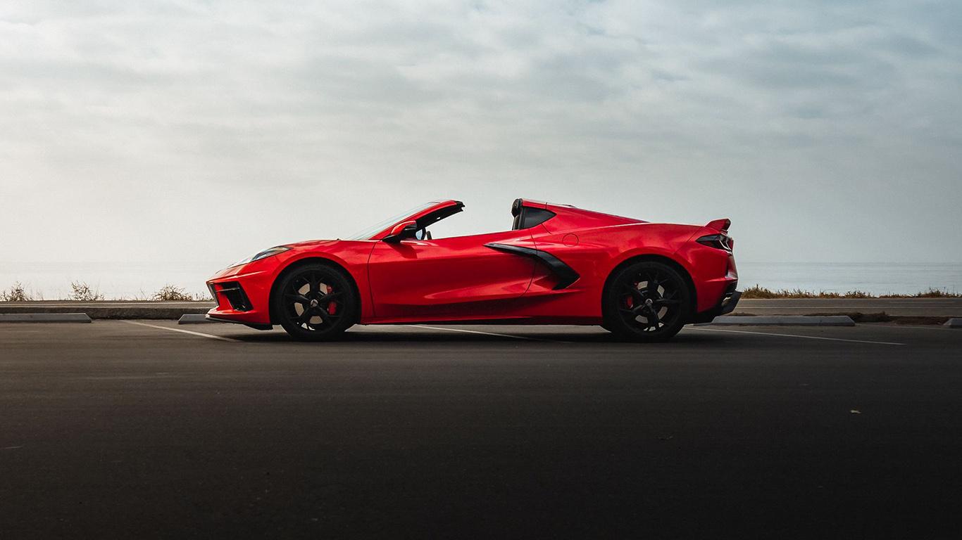 Corvette C8, Corvette, Car, Wallpapers Free Download For Desktop