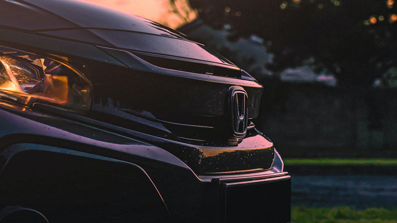 Honda, Car, Black Wallpapers Free Download