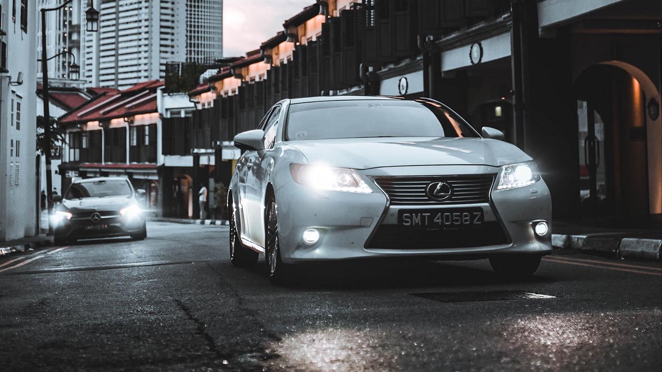 Lexus, Car, White Wallpapers Free Download