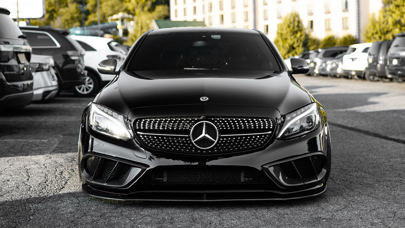 Mercedes, Car, Black, Wallpapers Download For Mobile