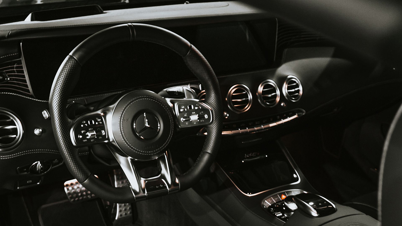 Mercedes, Car, Salon, Wallpapers Download For Mobile