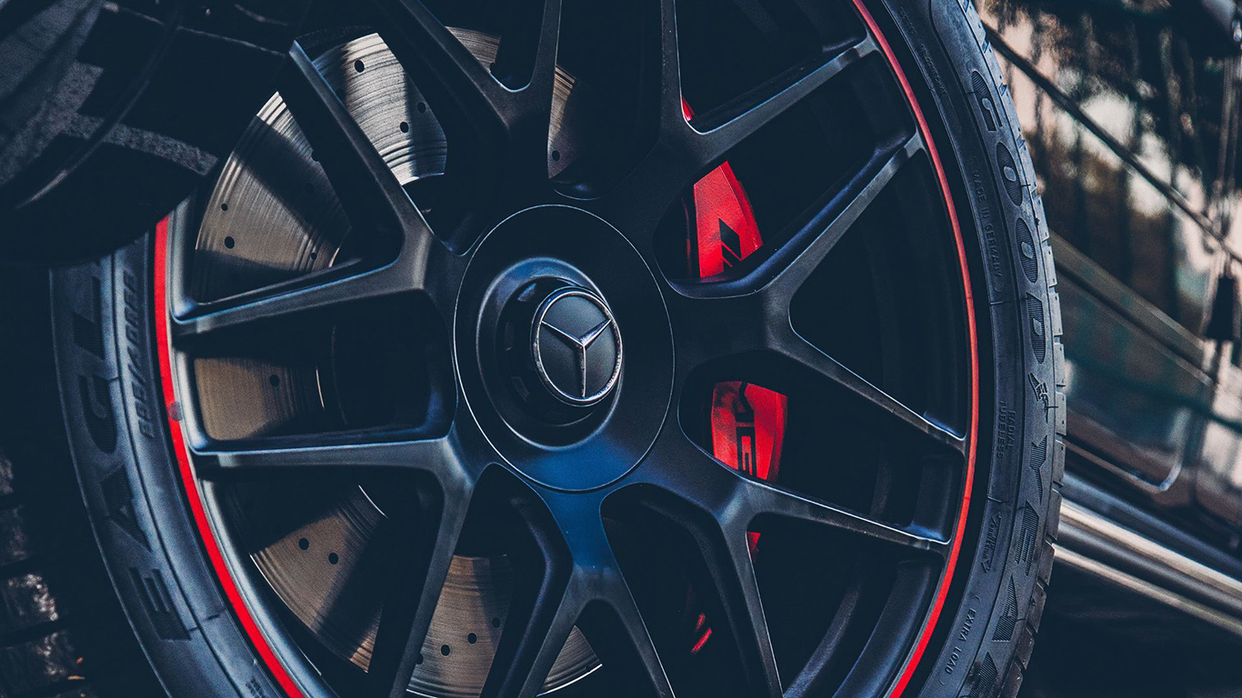 Mercedes, Wheel, Car, Wallpapers Download For Mobile
