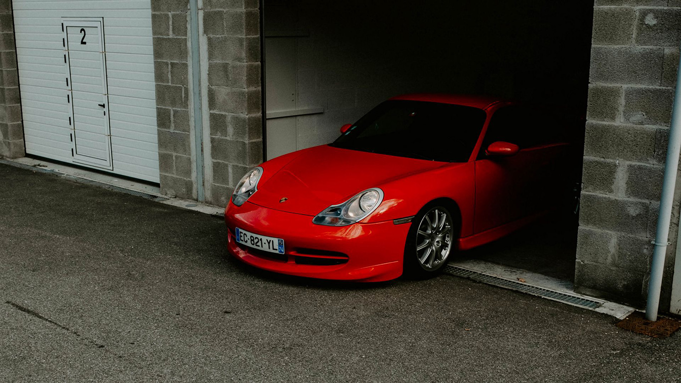 Porsche, Car, Red HD Wallpapers Free Download