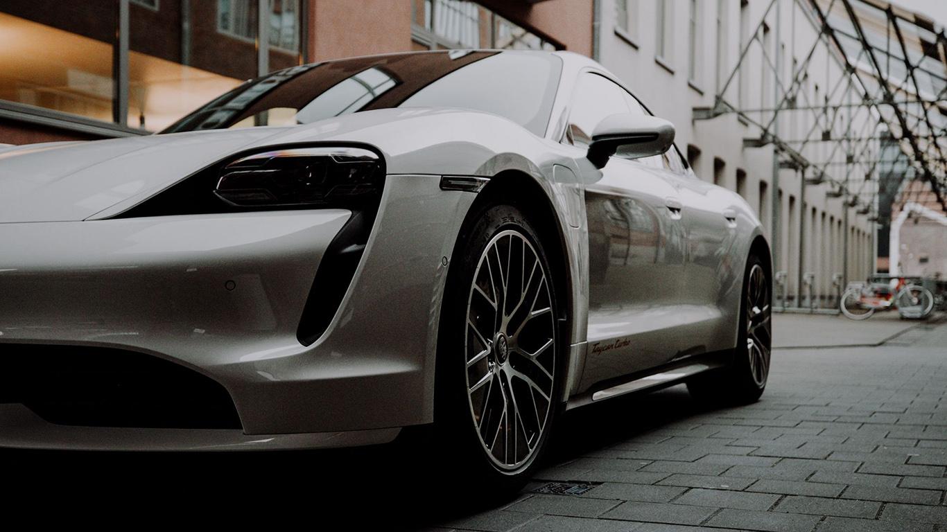 Porsche, Car, White, HD Wallpapers Free Download
