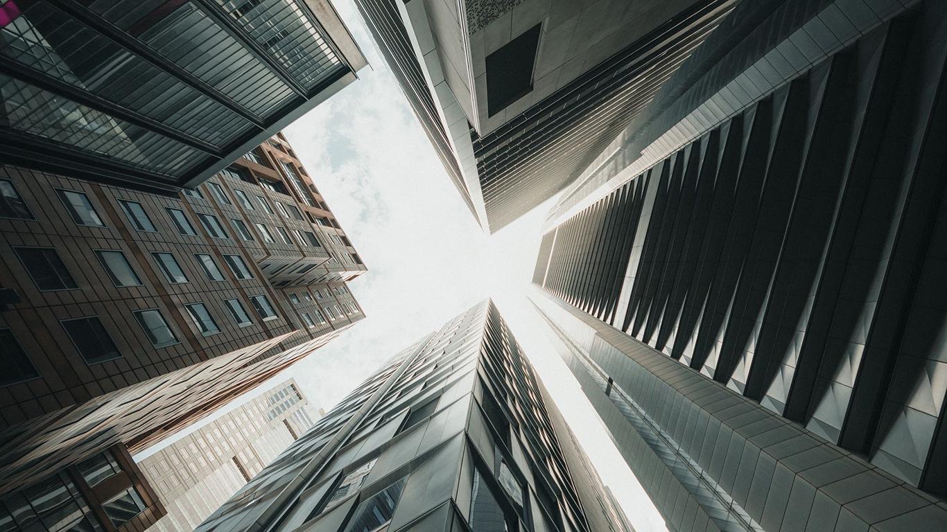 Skyscrapers, Buildings, Sky HD Wallpapers Free Download