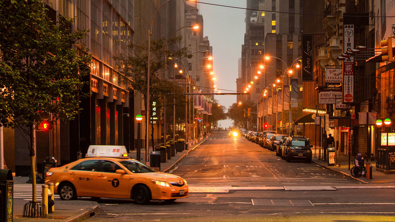 Street, City, Cars HD Wallpapers Free Download (2)