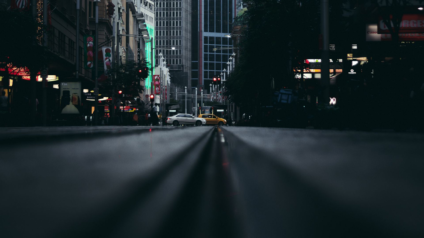 Street, City, Cars HD Wallpapers Free Download