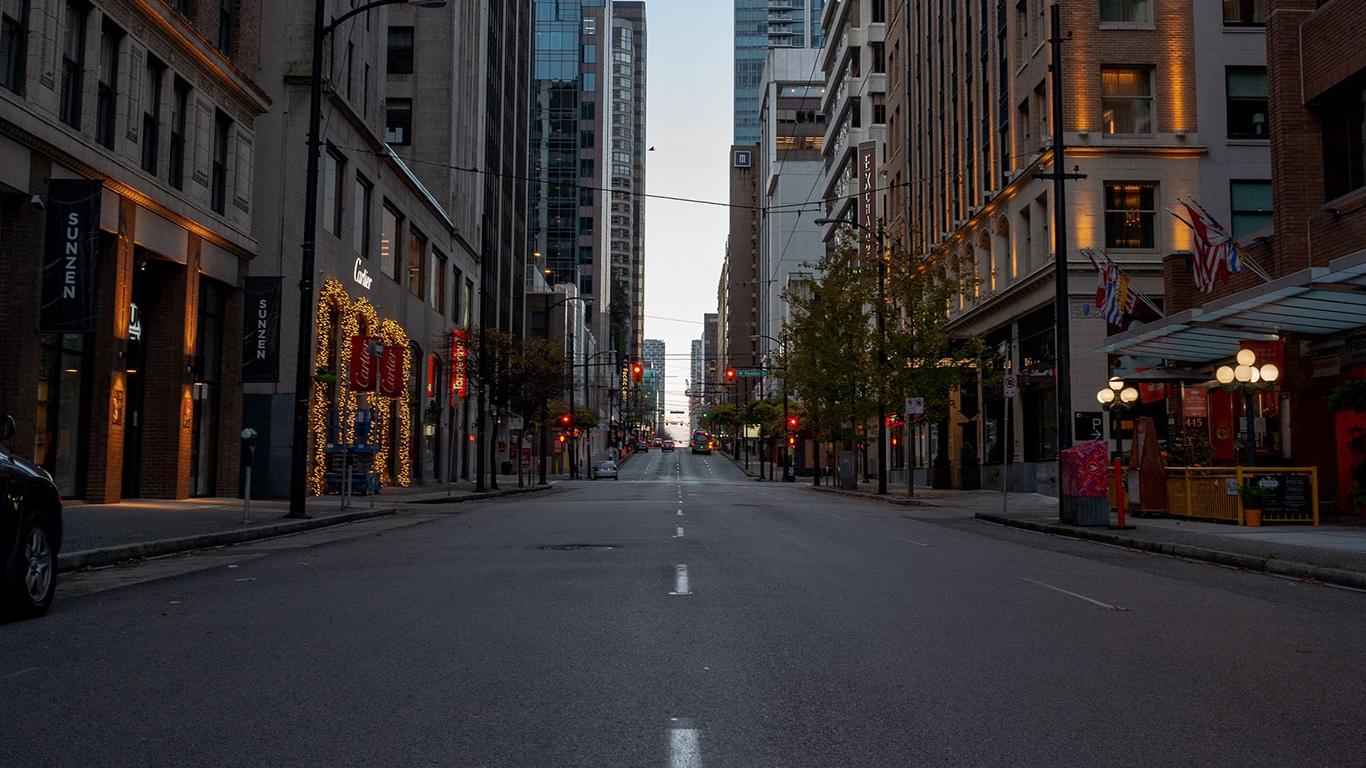 Street, Road, Buildings HD Wallpapers Free Download