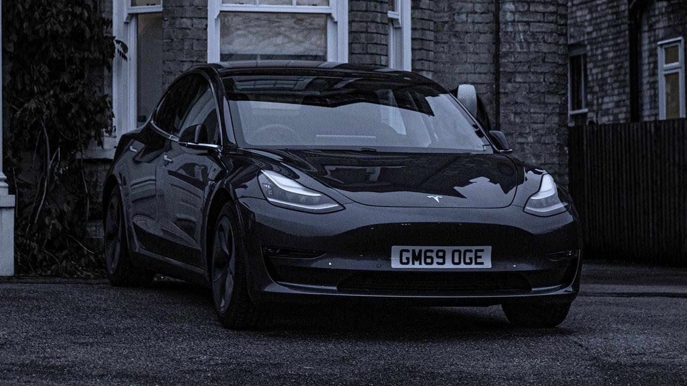 Tesla, Car, Black Wallpapers Free Download