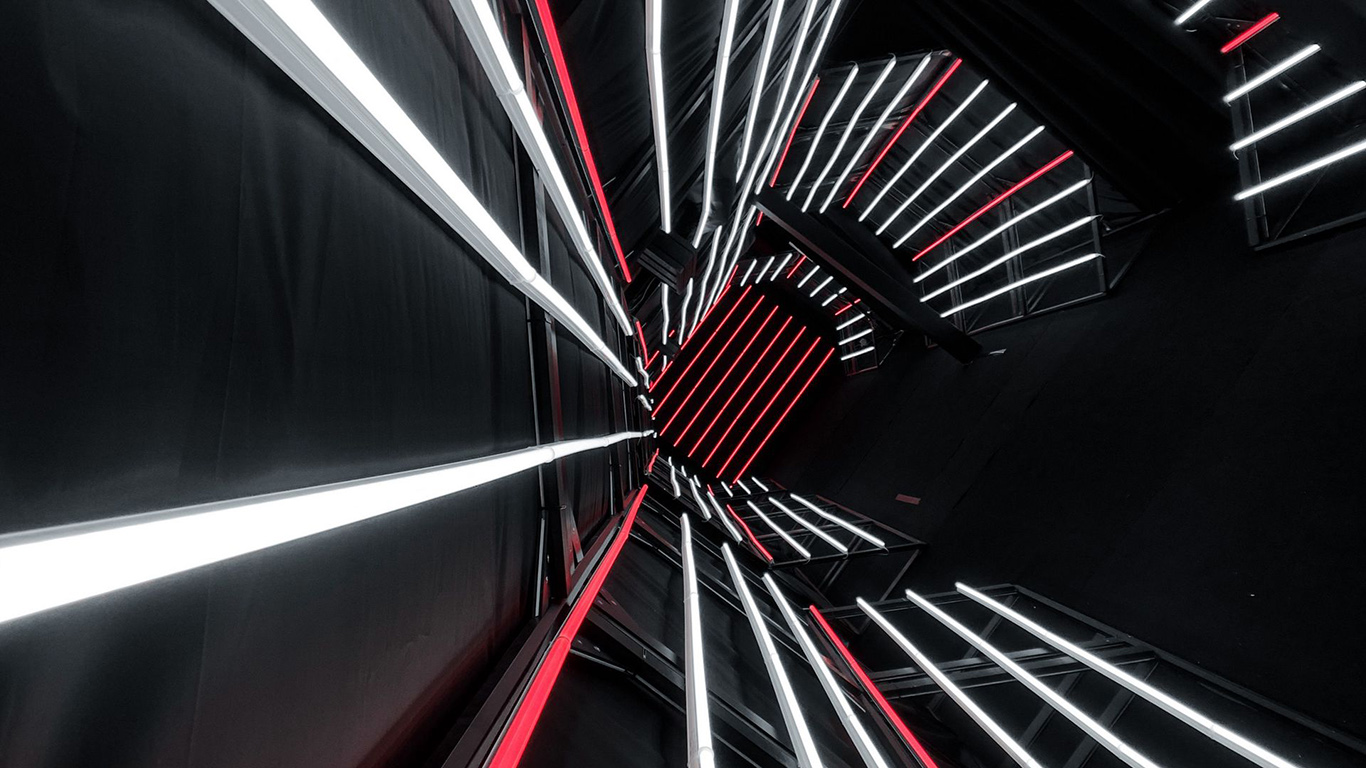 Tunnel, Neon, Lines Wallpapers Free Download