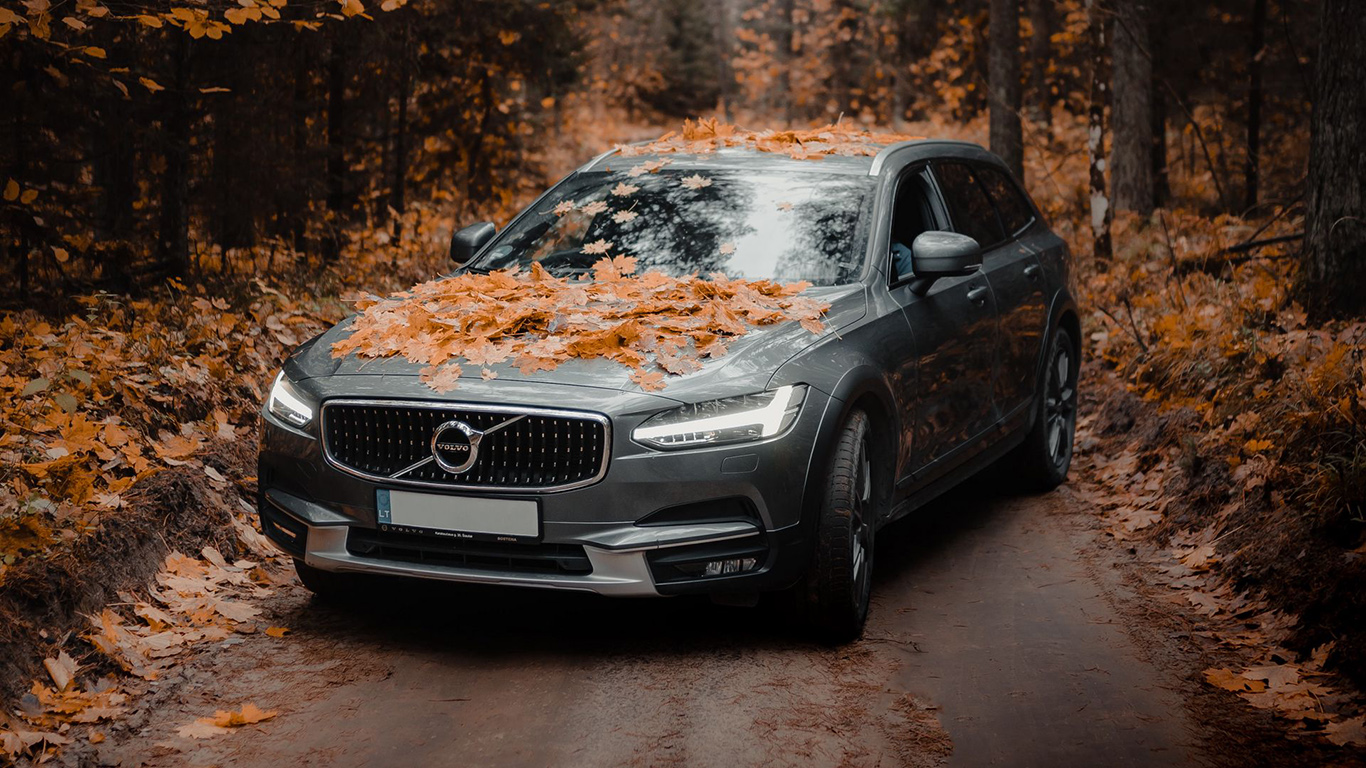 Volvo, Car, Gray Wallpapers Free Download