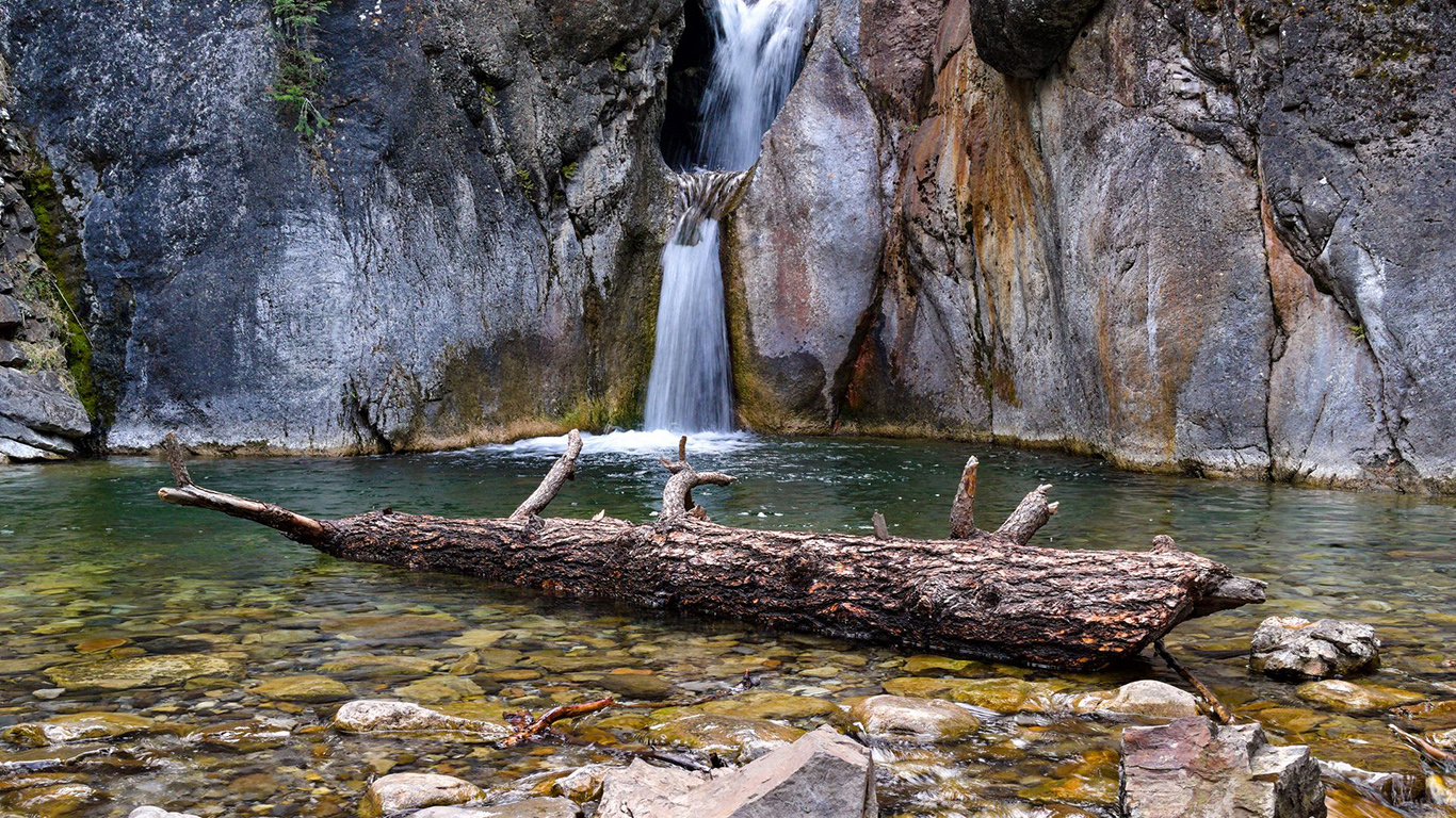 Waterfall, Rocks, Stones Wallpapers Download