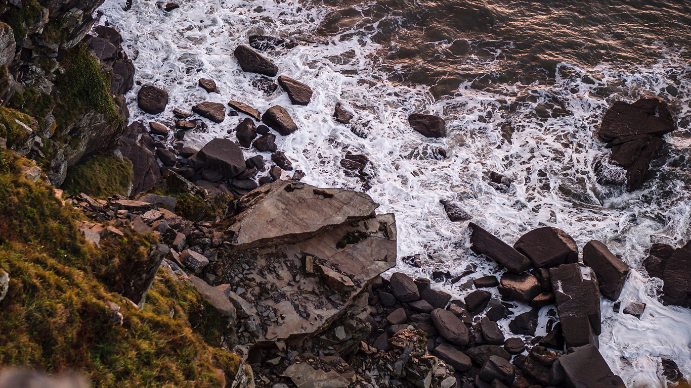 Waves, Rocks, Coast Wallpapers Download