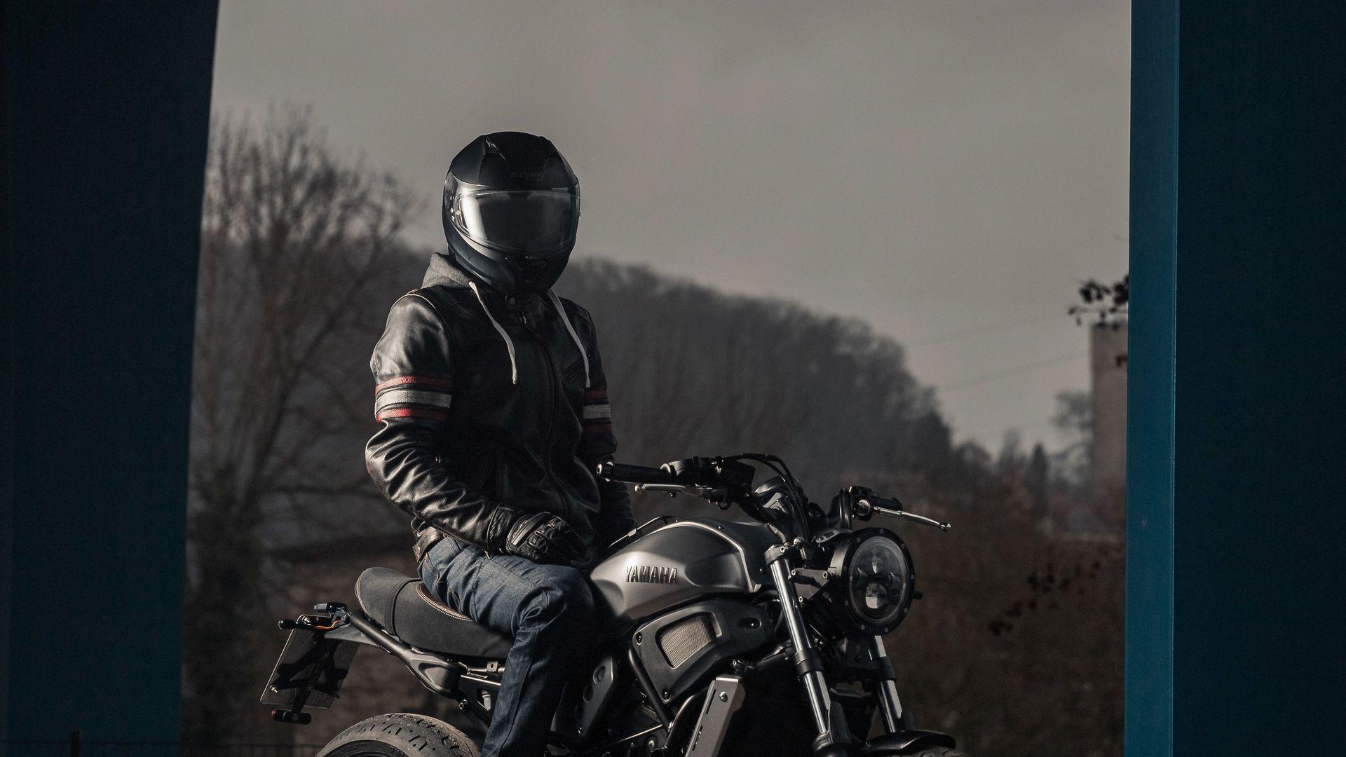 Motorcyclist, Helmet, Motorcycle Download Free HD Wallpapers