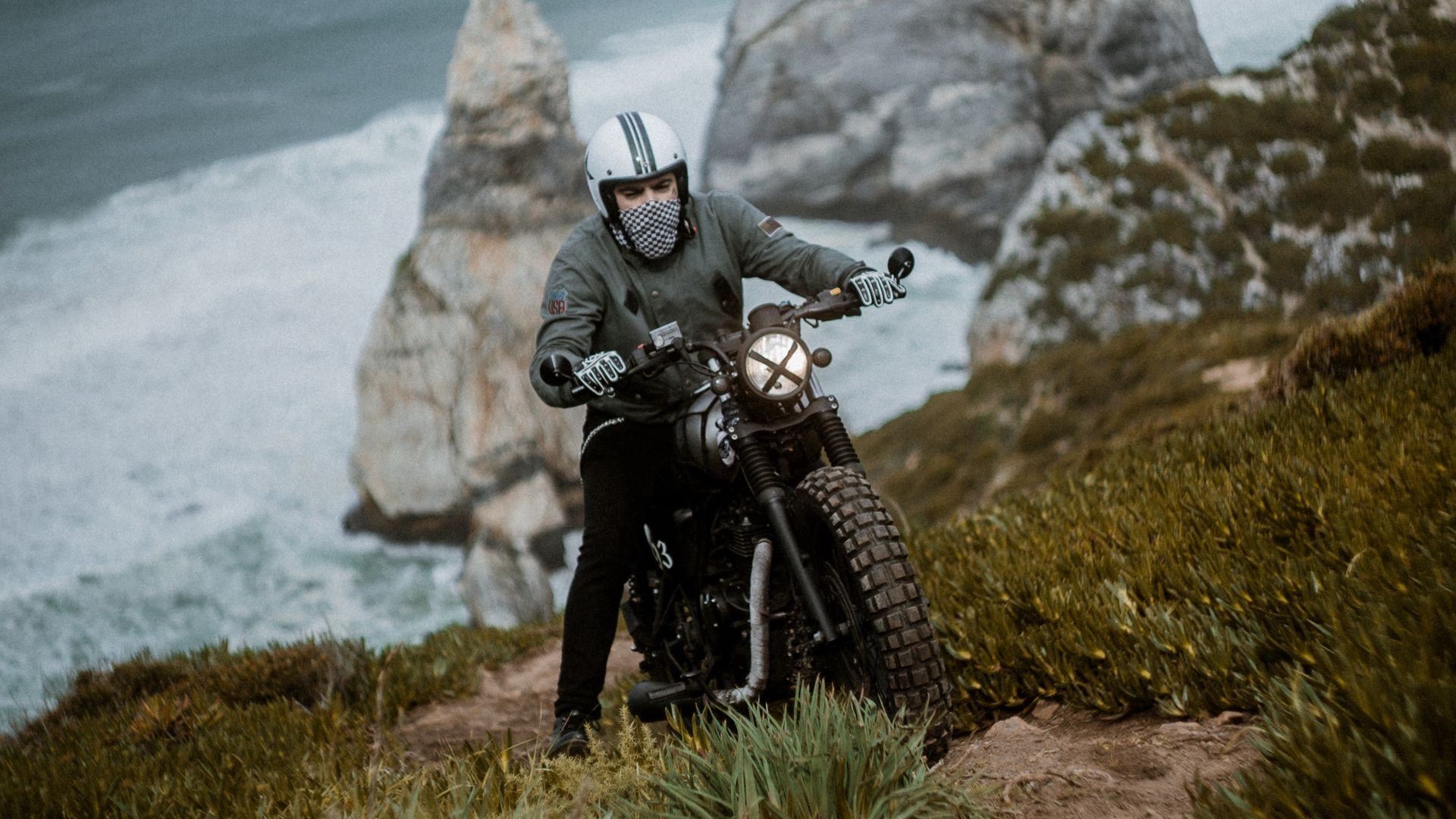 Motorcyclist, Motorcycle, Download Free HD Wallpapers