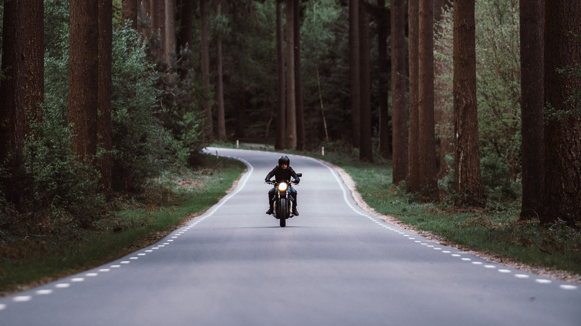 Motorcyclist, Motorcycle, Road Download Free HD Wallpapers