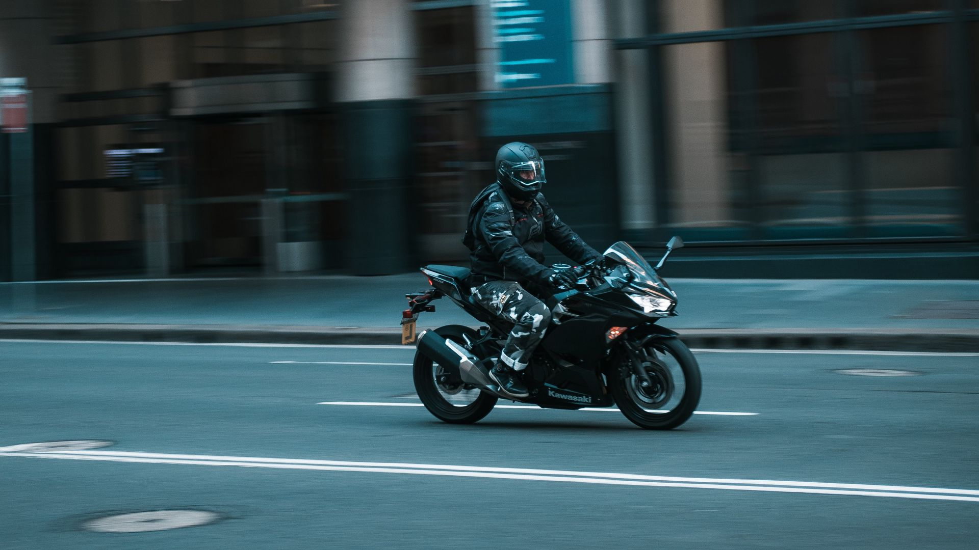Motorcyclist, Speed, Motorcycle Download Free HD Wallpapers