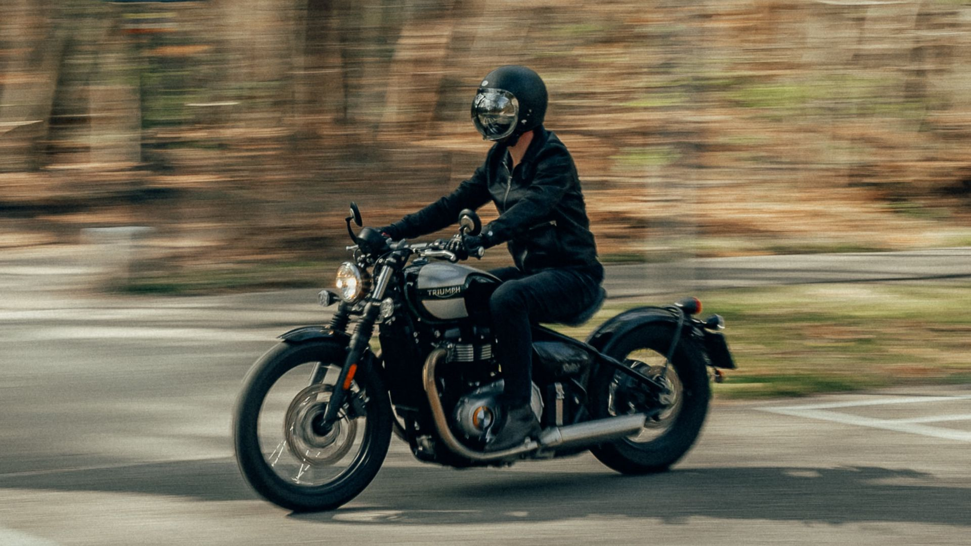 Triumph, Motorcycle, Motorcyclist Wallpapers Free Download
