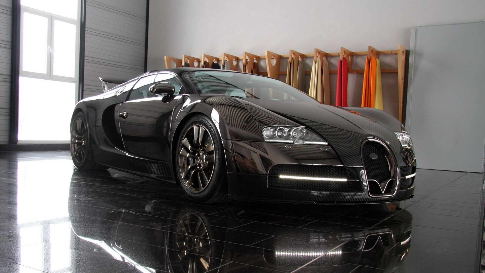 Veyron, Luxury Cars, Black Wallpapers Free Download