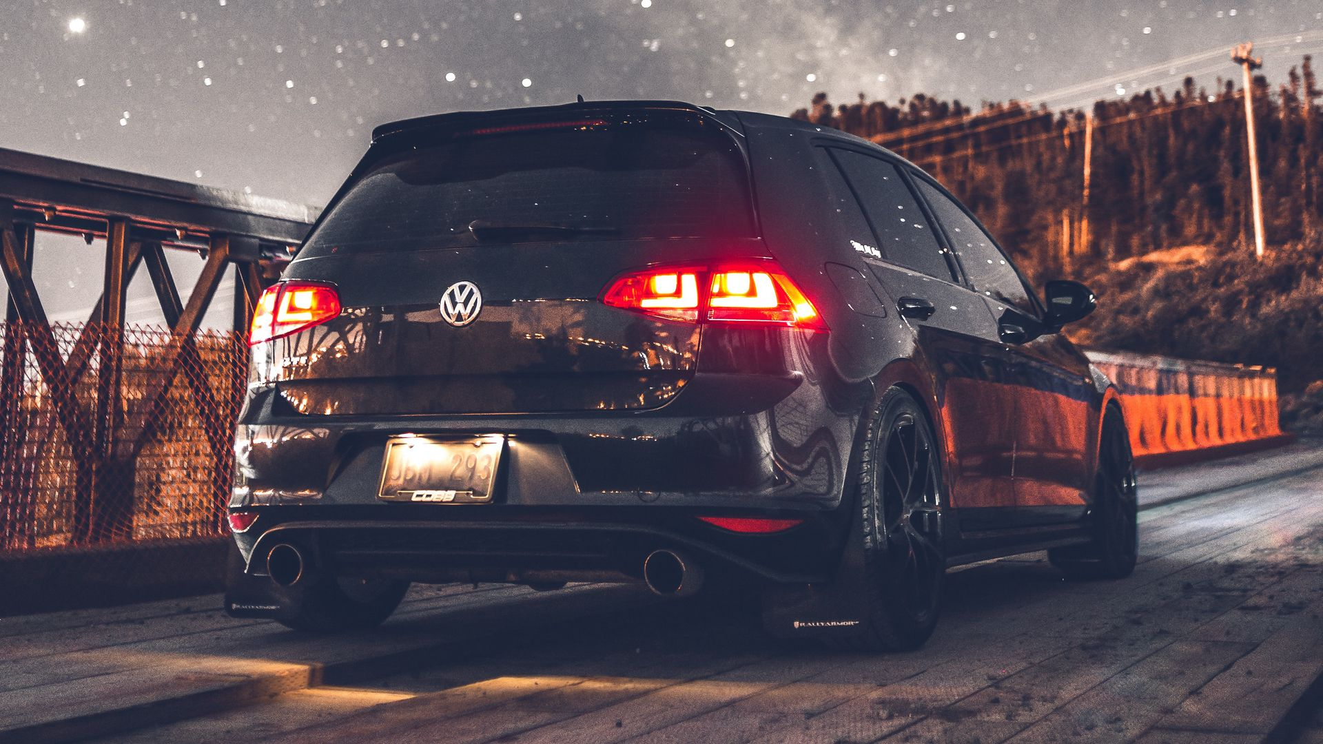 Volkswagen, Car, Rear View Wallpapers Free Download