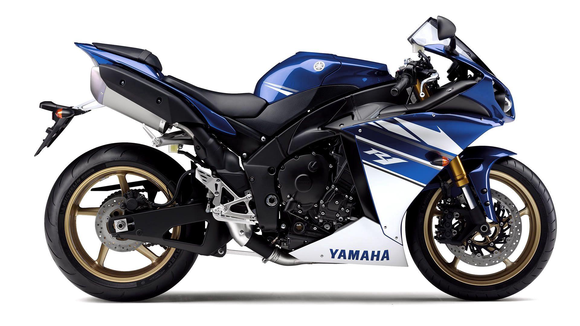 Yamaha, Motorbike Blue, Yamaha R1 Wallpapers Free Download
