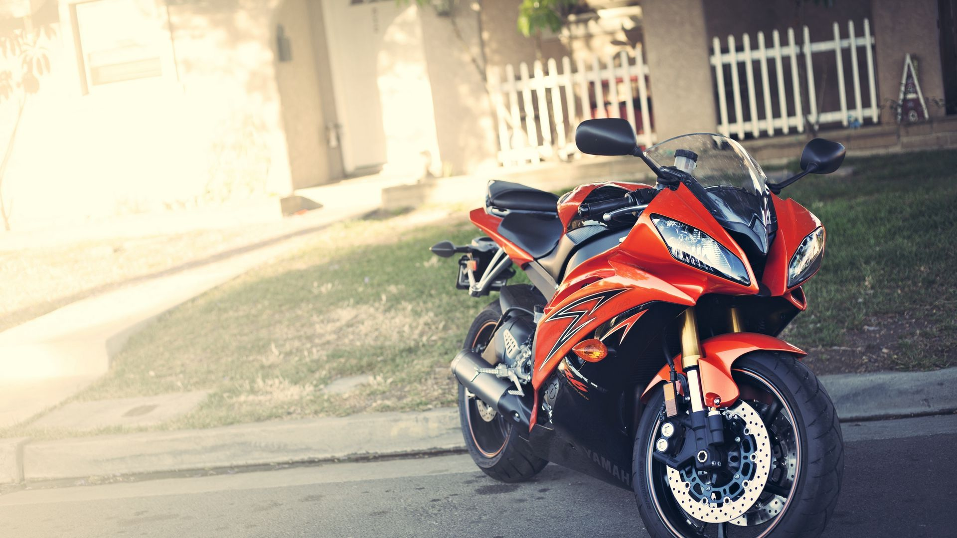 Yamaha Yzf R6, Red, Motorcycle Wallpapers Free Download