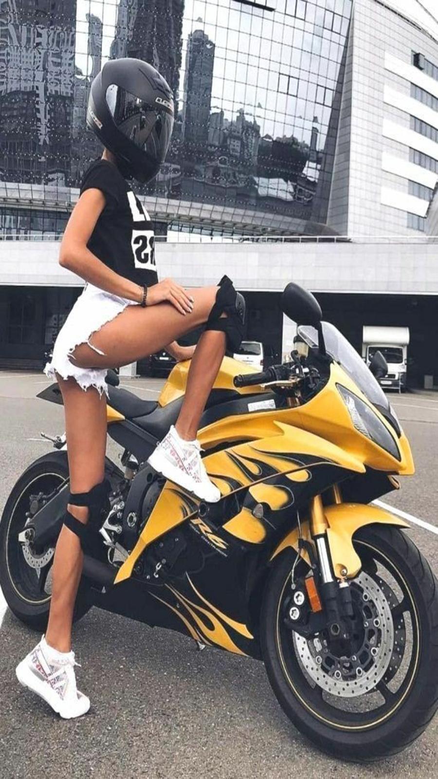 Best Girl Super Bike Wallpapers Free Download