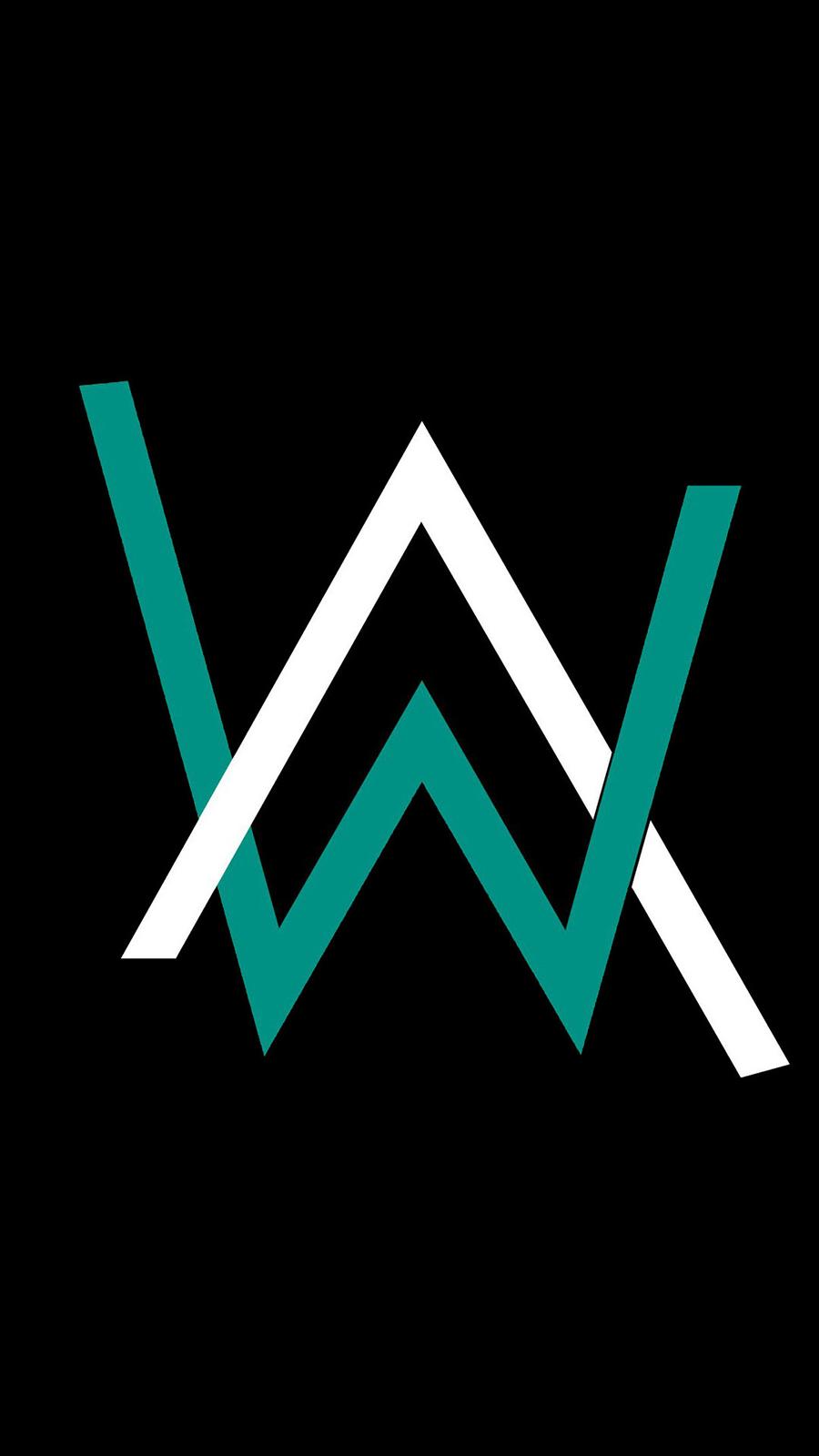 Alan Walker Logo Qhd Wallpaper