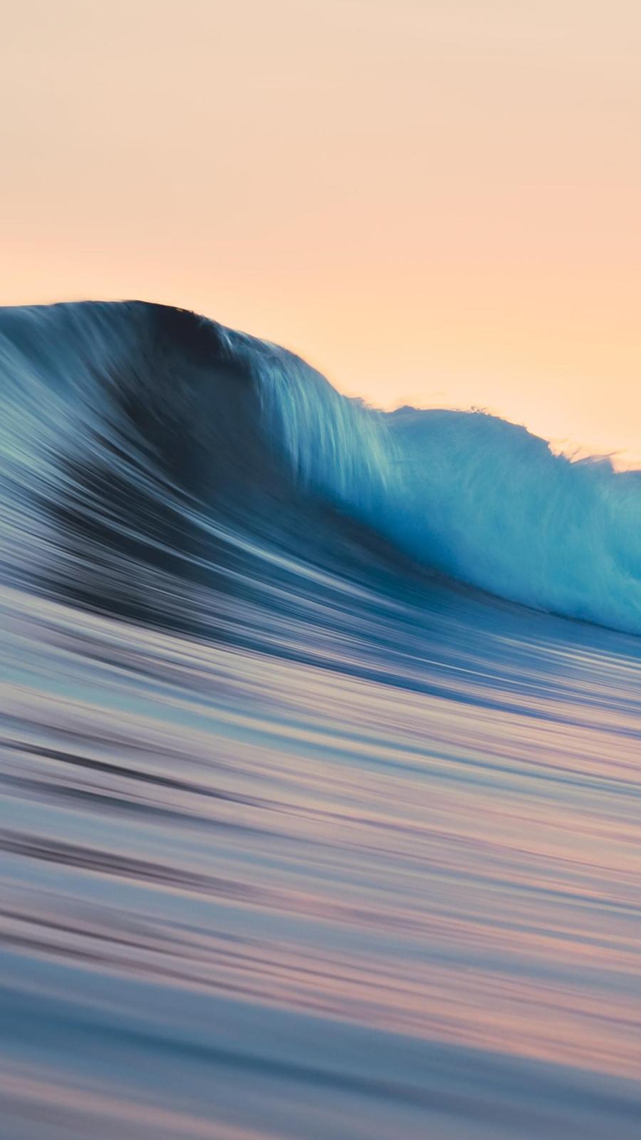 Apple Waves Wallpaper