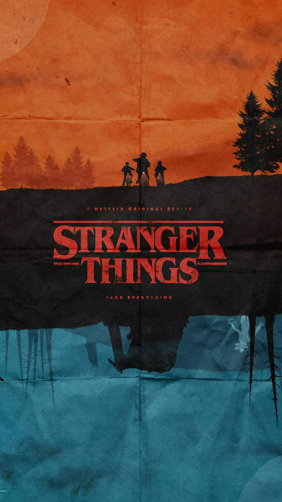 Apple iPhone Stranger Things Wallpapers Free Download