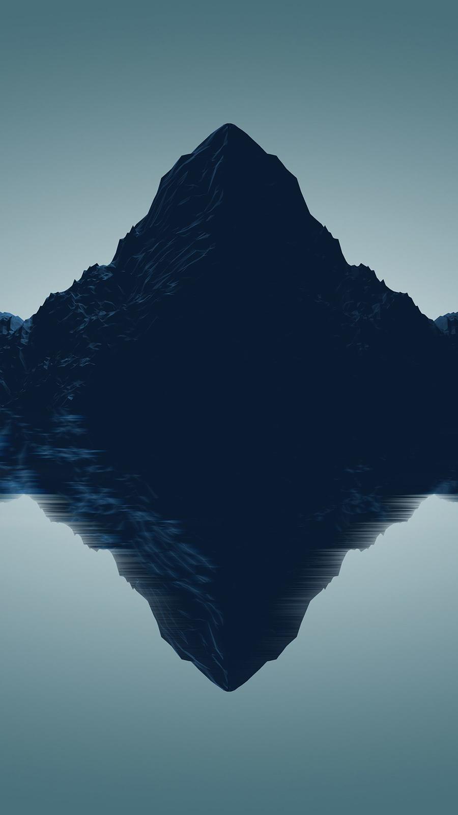 Artistic Mountains Qu Wallpaper