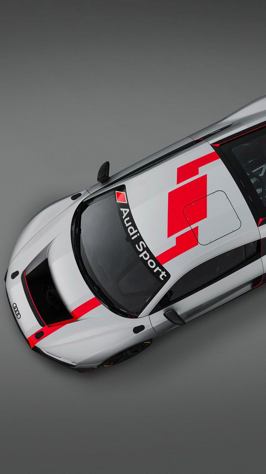 Audi R8 Gt4 Top View hd Wallpaper