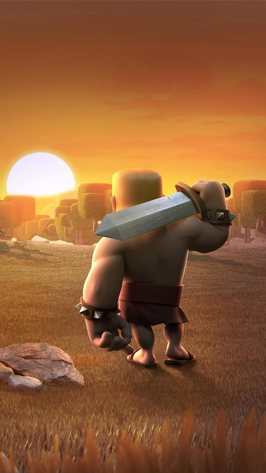 Barbarians Clash Of Clans Wallpaper