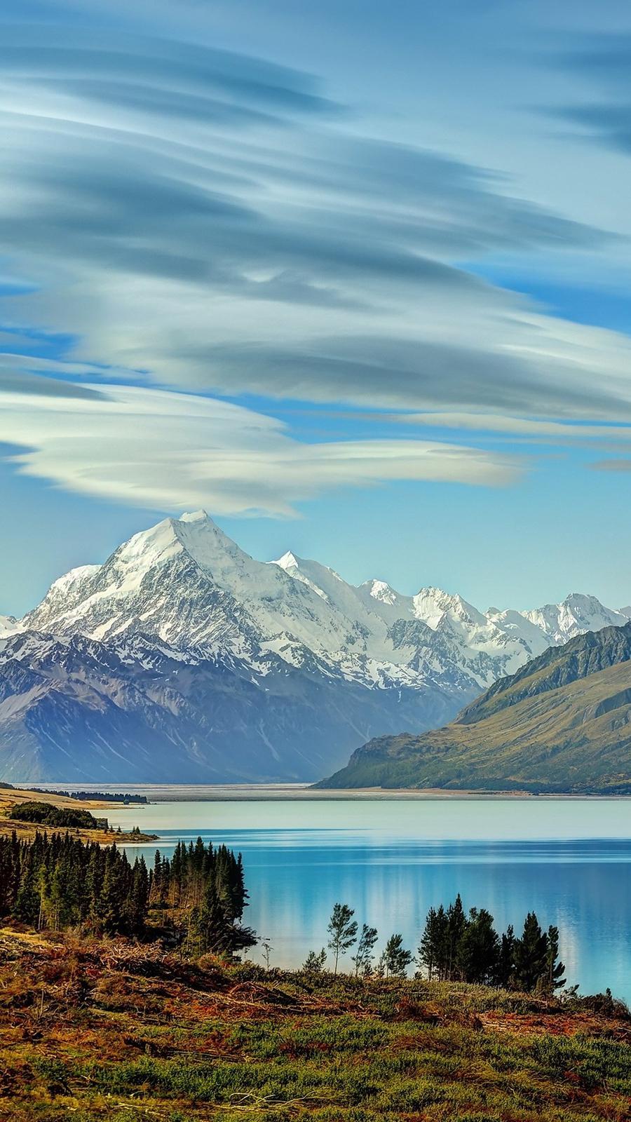 Beautiful Lake New Zealand Of Wallpaper