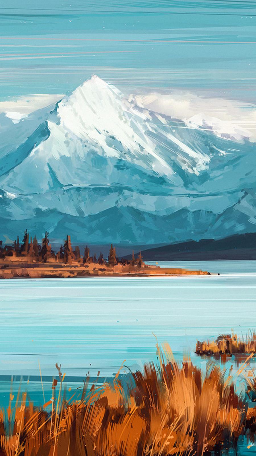 Bejamin Mountains A Quiet Mind Yi Wallpaper
