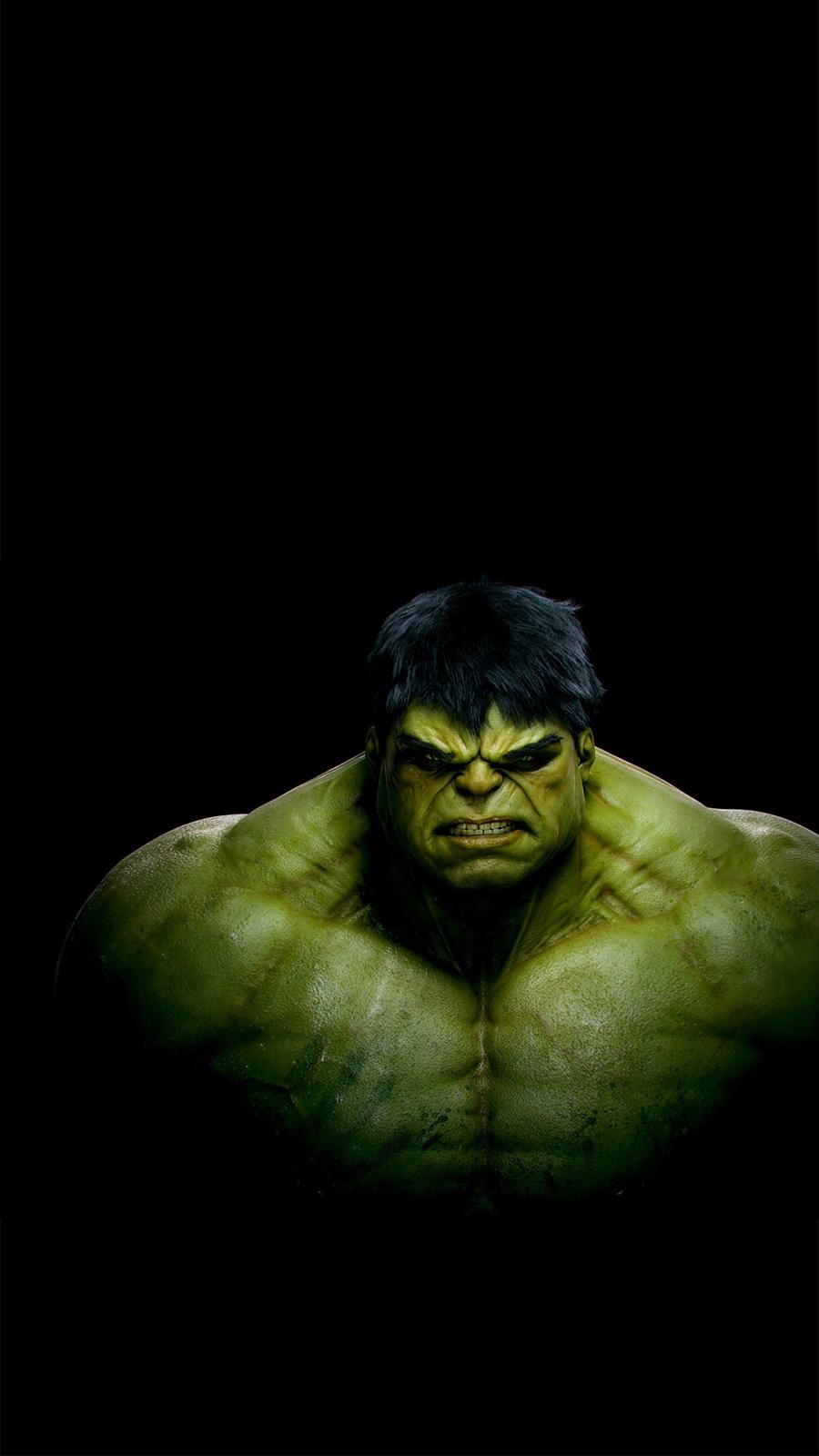 The Incredible Hulk Dark Android Wallpaper