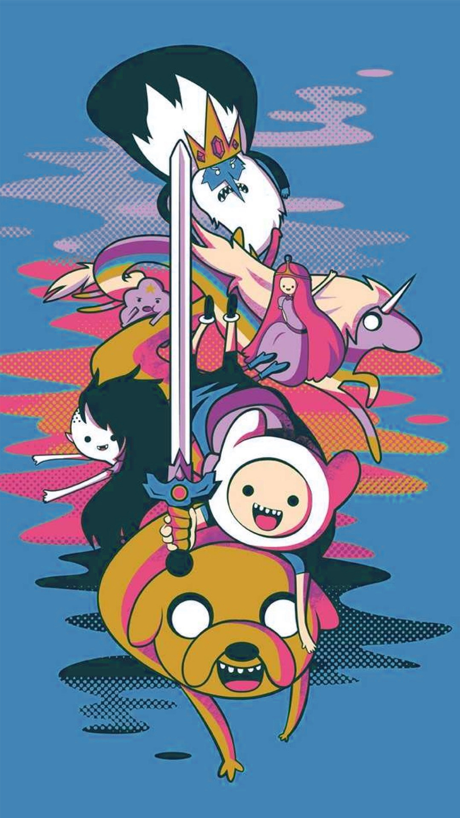 Adventure Time Phone Wallpapers Free Download