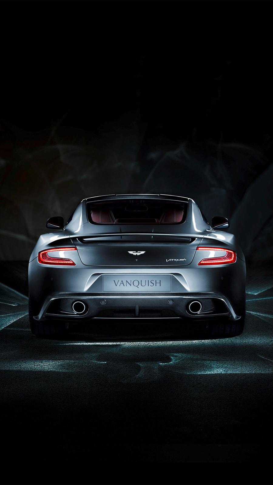Aston Martin Vanquish Rear Wallpapers
