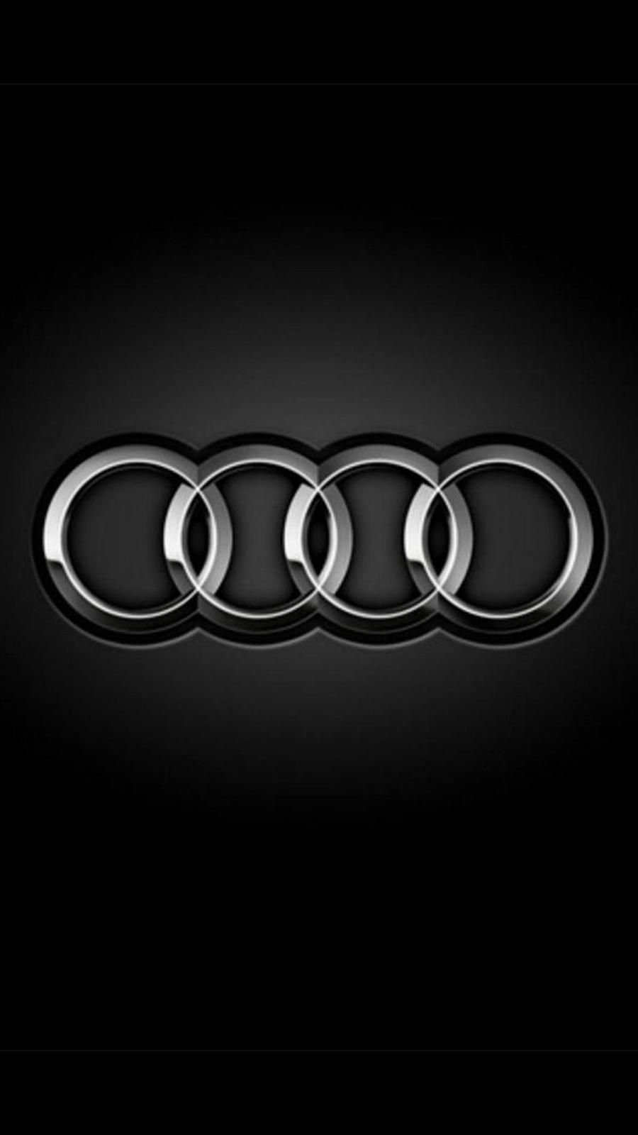 Audi Logo Rings Dark Wallpapers