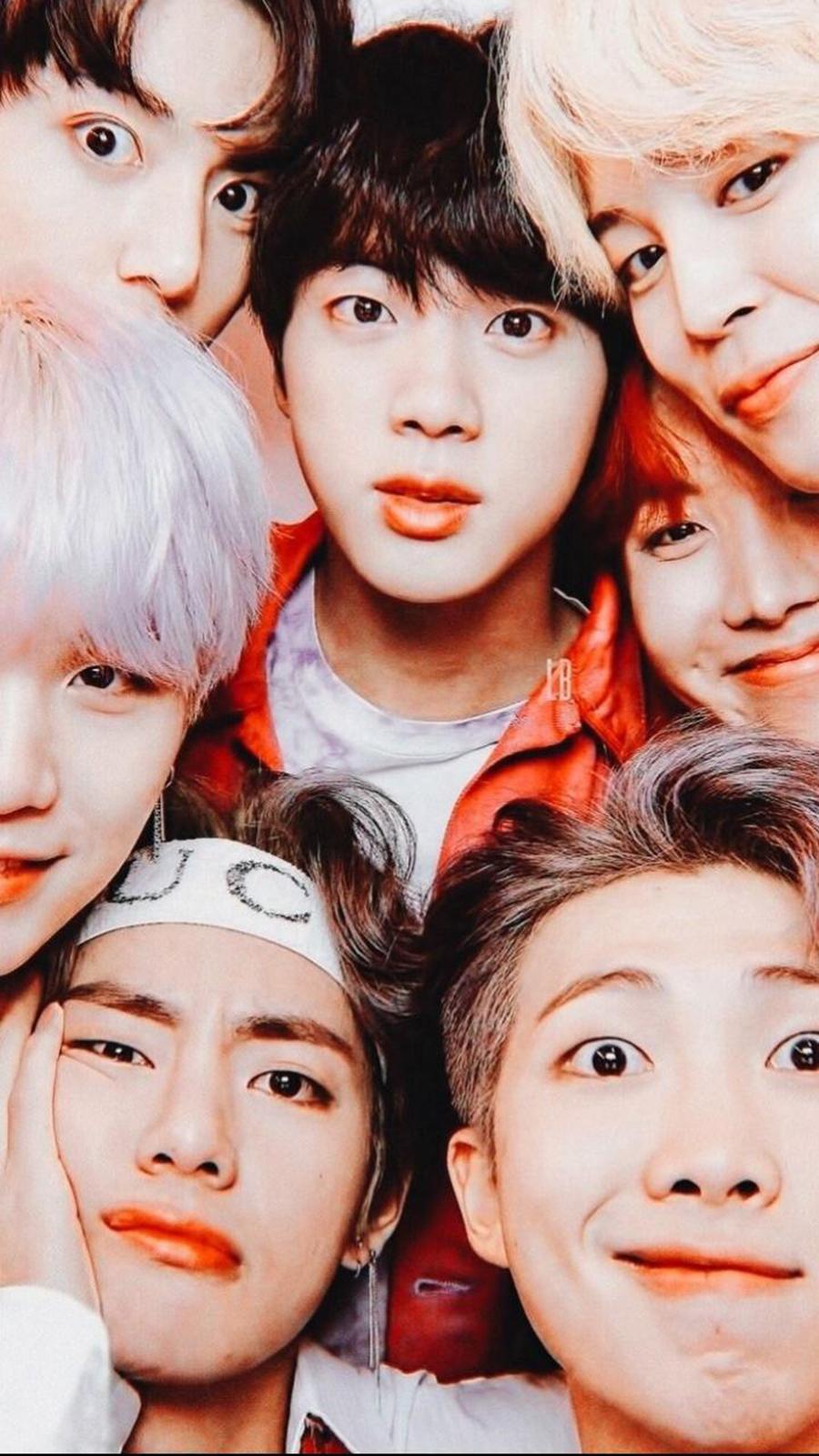 BTS Face Wallpaper – Korean Group BTS Wallpapers Free Download