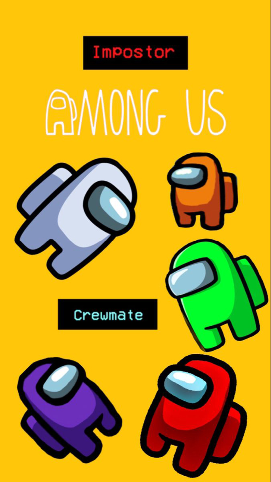 Best Among Us Wallpaper – Among Us Character Wallpapers Free Download