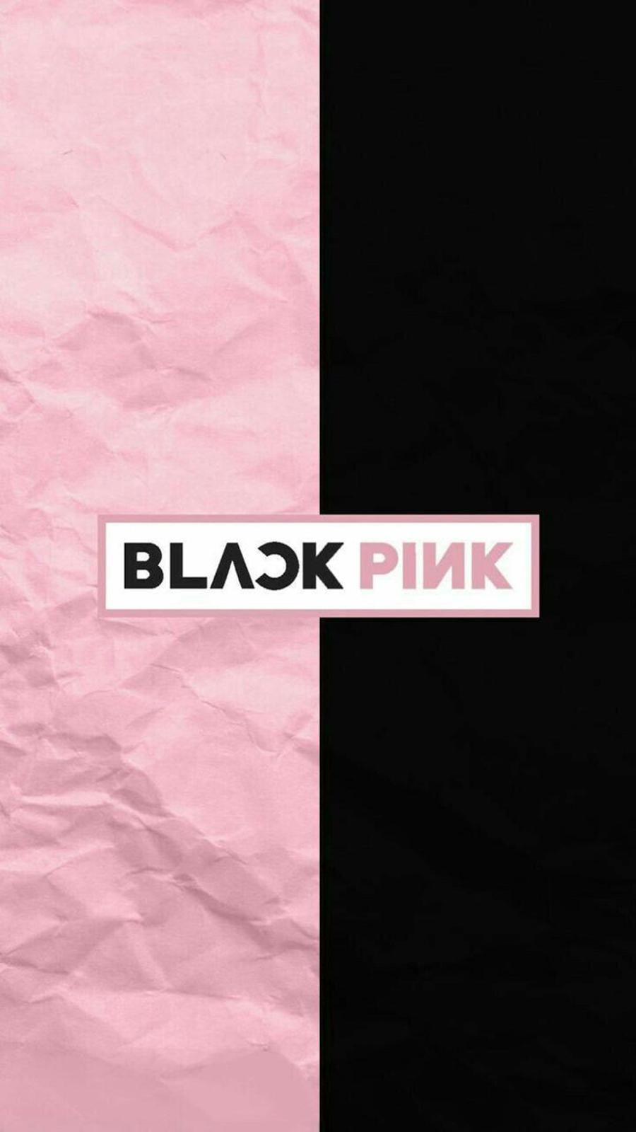 Black & Pink Logo Wallpapers Free Download