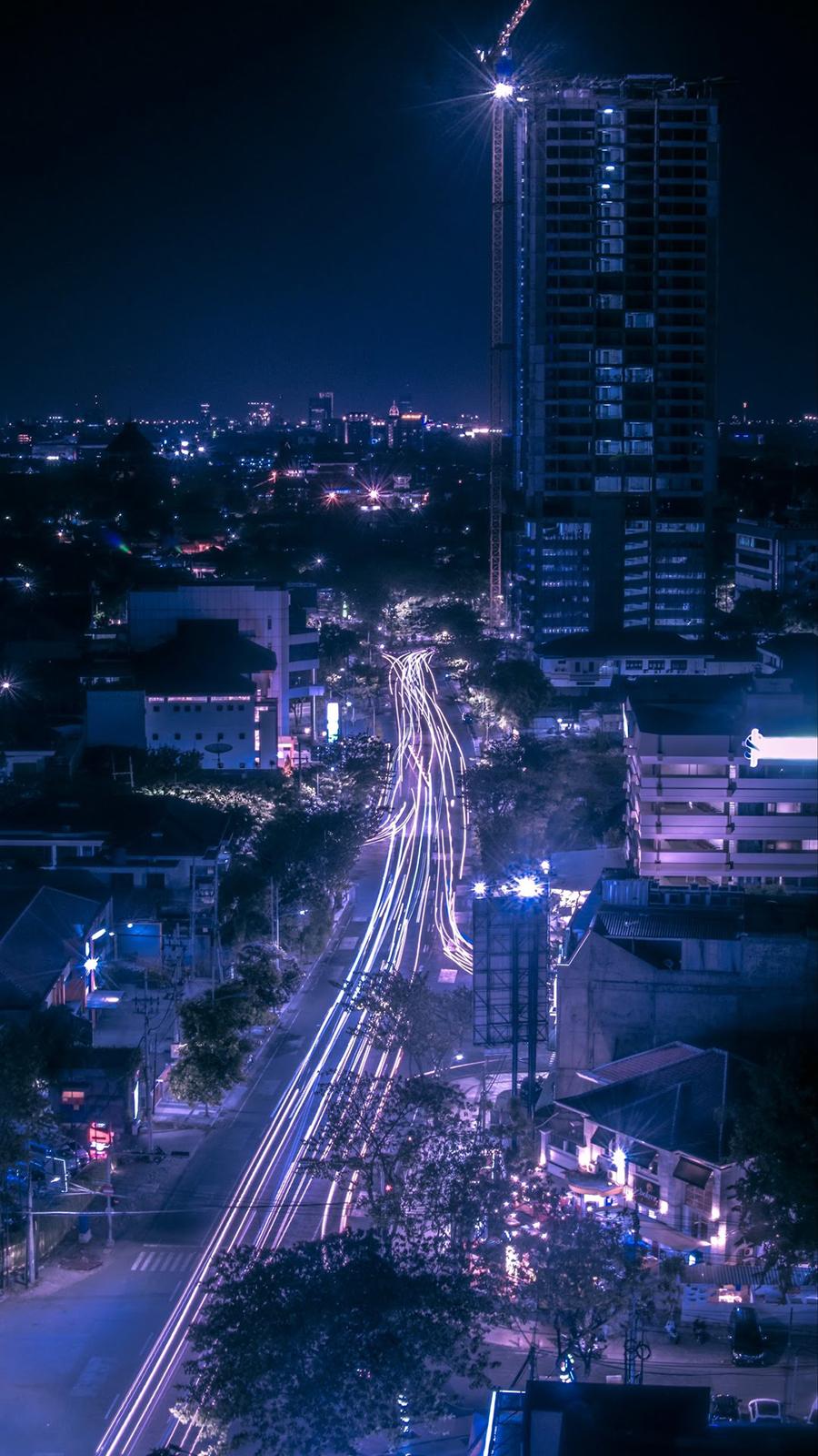 City Blue Effect Wallpaper – Best Wallpapers Free Download