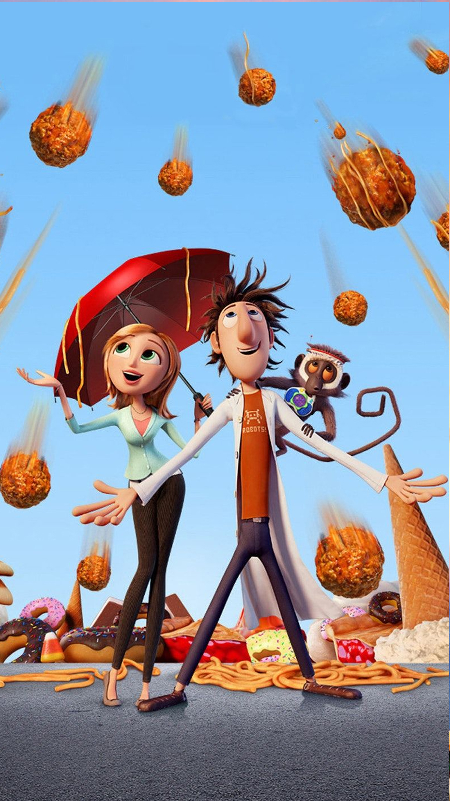 Cloudy With A Chance of Meatballs Wallpaper Download