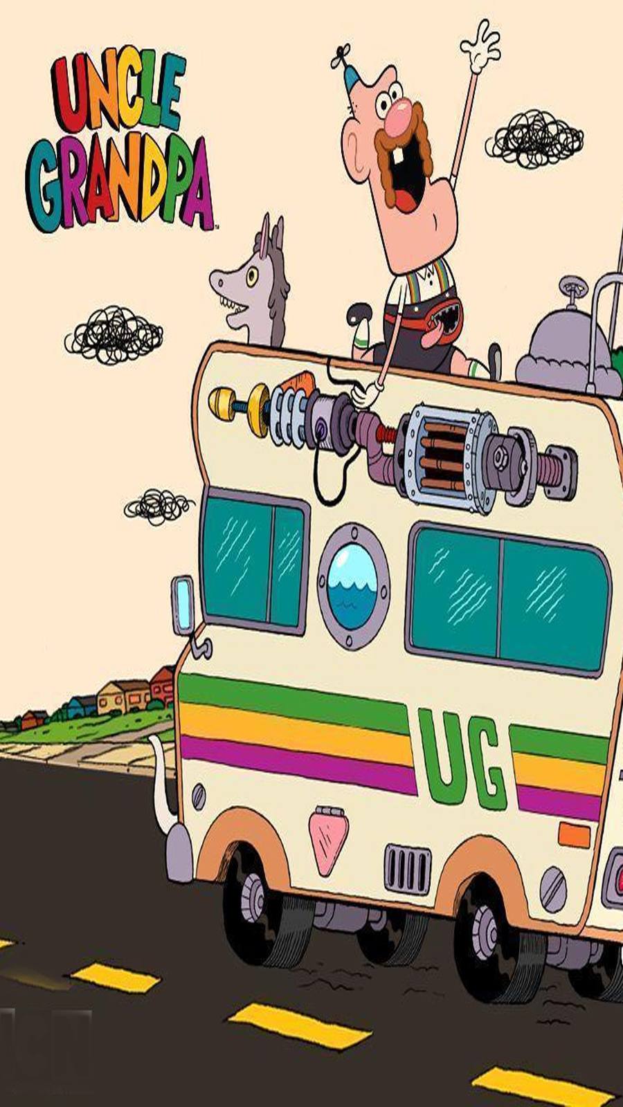 Funny Uncle Grandpa Wallpapers Download For Mobile
