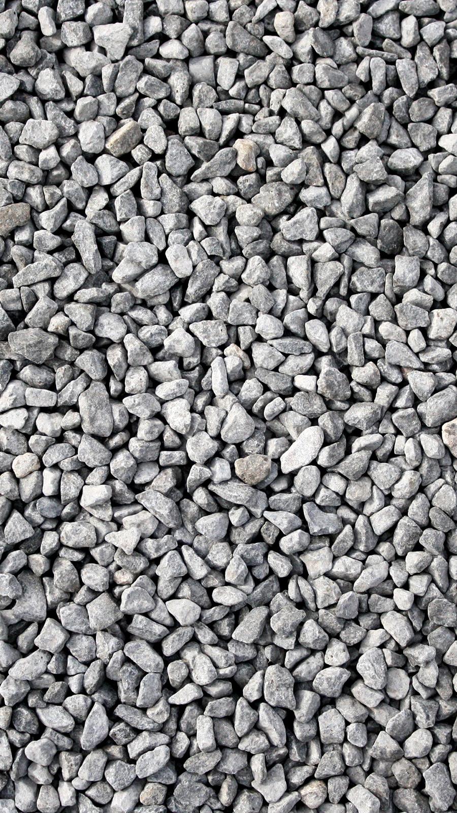 Gravel Rocks Texture Android Wallpaper