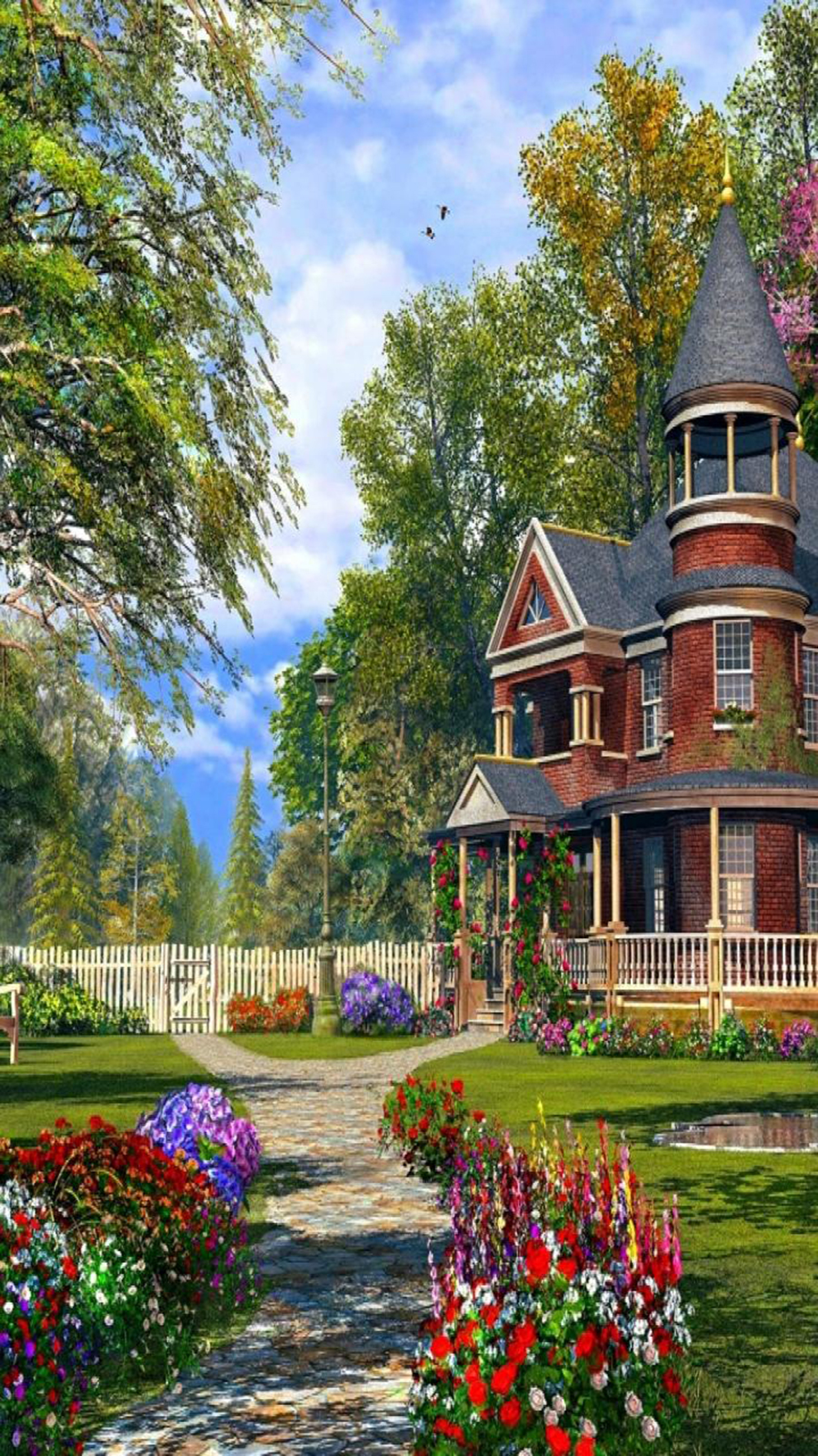 House HD Wallpaper – Fantasy Houses Wallpapers Free Download
